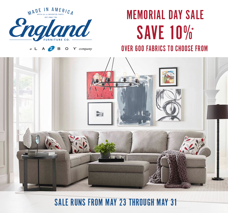Memorial Day Sale On England Furniture