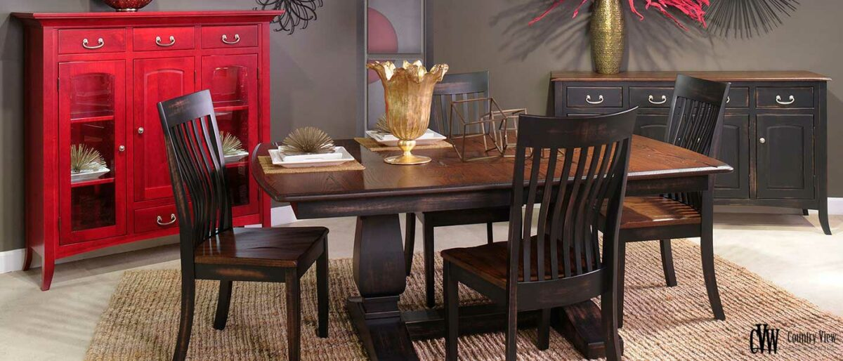 Country View Woodworking buffet table
