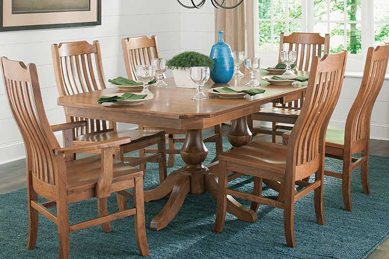 Palettes furniture dining room table
